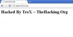 K24 hacked
