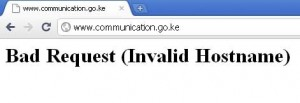 communication.go.ke website down