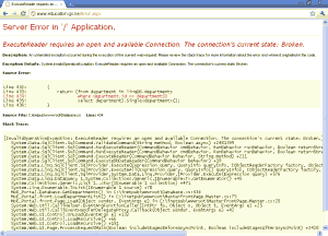 Kenya Ministry of Education website FAIL